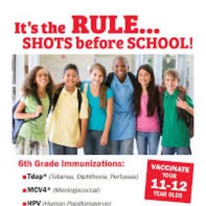 6th Grade Vaccination