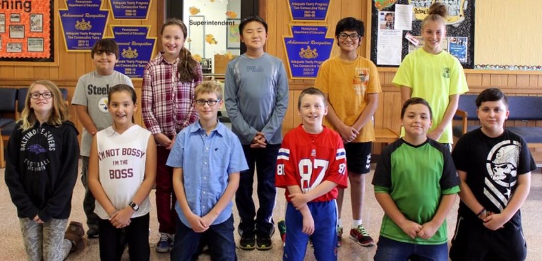 Weatherly Area John Hopkins Award Winners