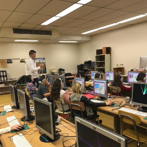 Hour of Code 2016 at Weatherly Area School District
