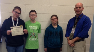Aiden Boerner named Champion of Weatherly's Geography Bee