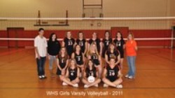 2011 Girls Varsity Basketball Team