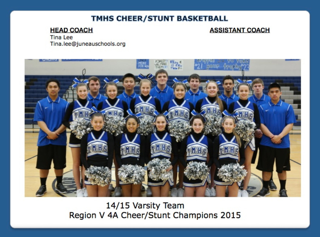 CHEER/STUNT BASKETBALL