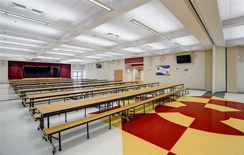 Ninety Six High School Cafeteria