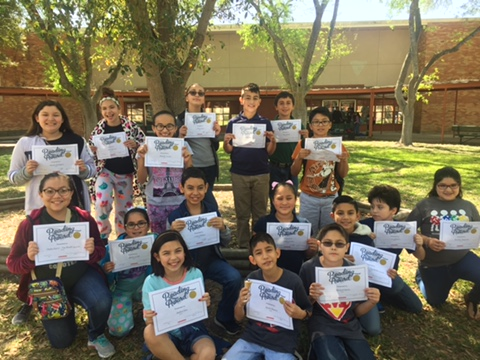 Fifth grade Accelerated Readers