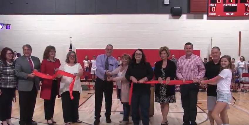SMS Gym Re-dedication