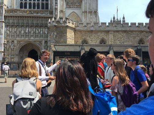DHS Students Tour Europe