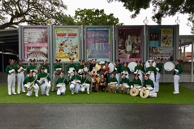 DHS MARCHING BAND GOES TO DISNEY