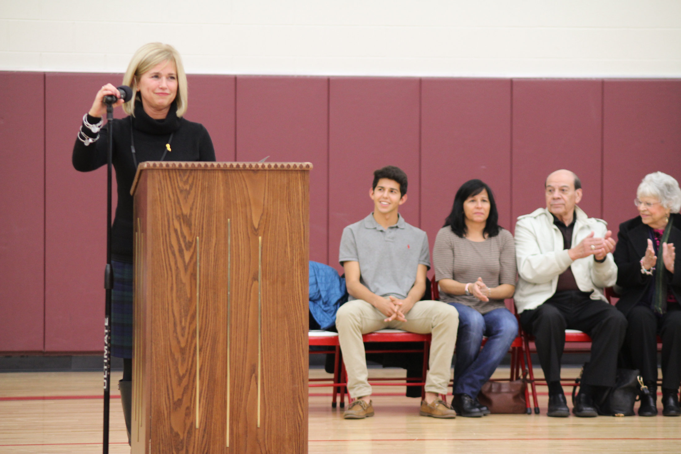 East Middle School Hall of Fame Ceremony
