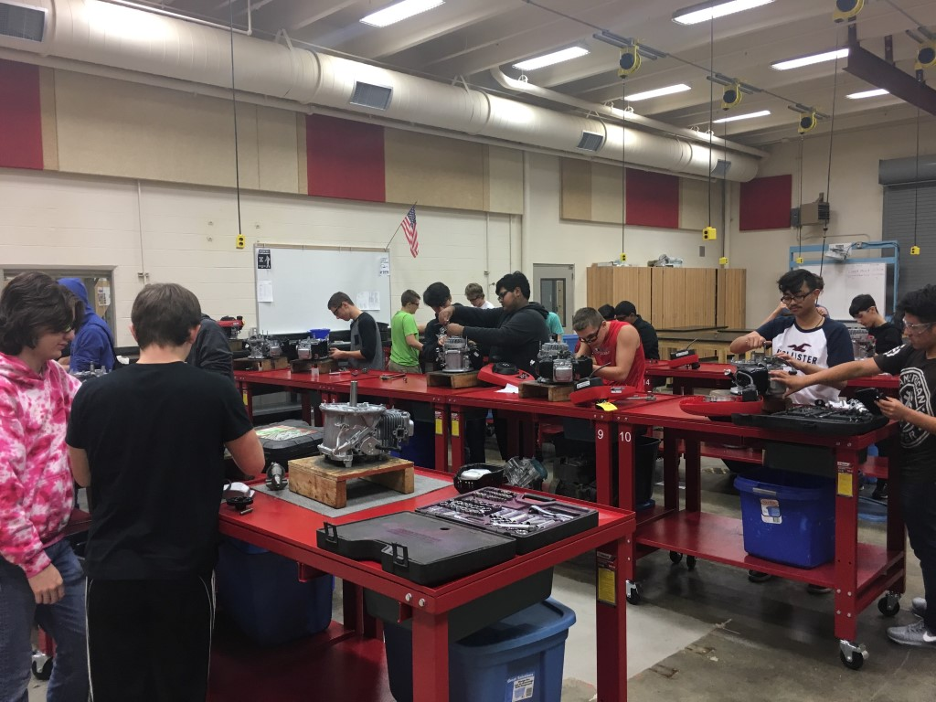 CTE Students in Action