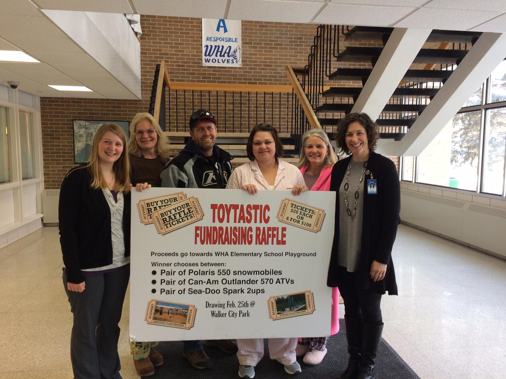 Toytastic Fundraising Raffle