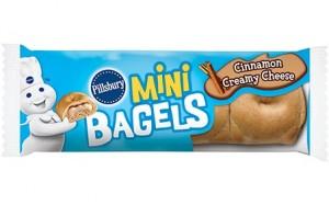 Bagel with Cinnamon Cream-cheese