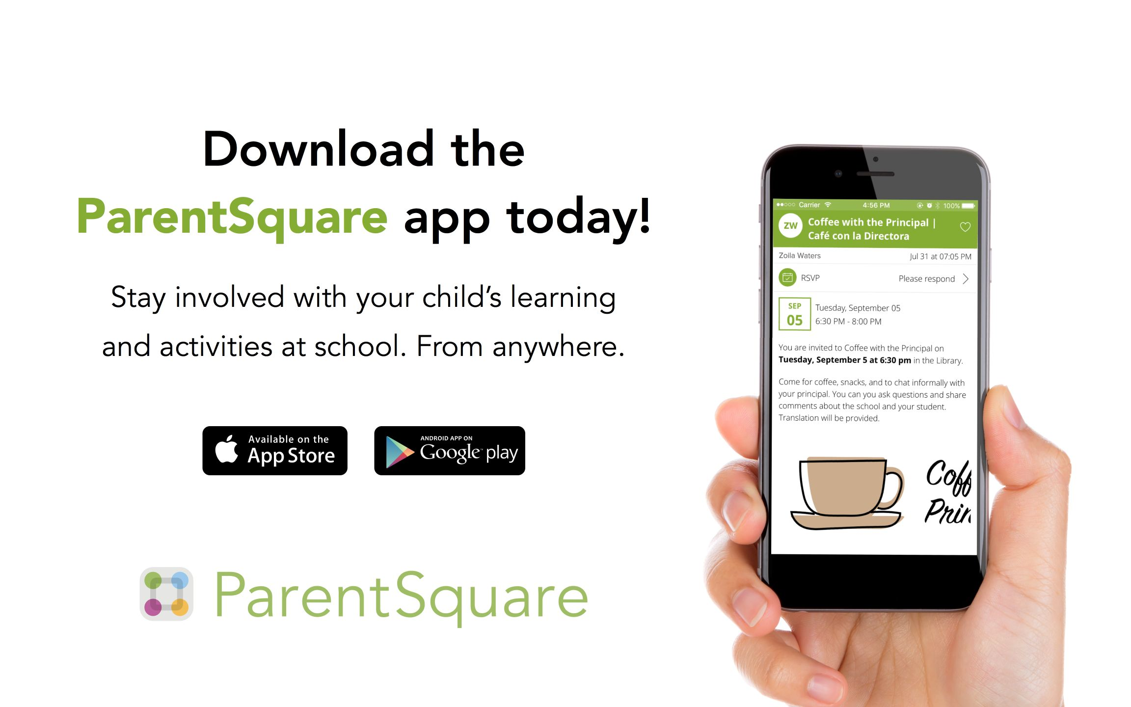 Parent Square - Download the App Today!