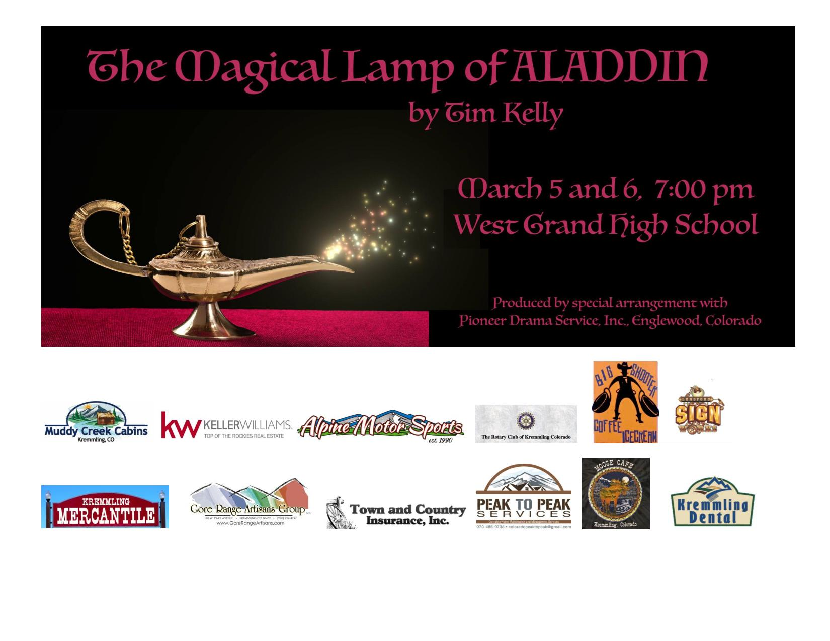 The Magical Lamp of Aladdin