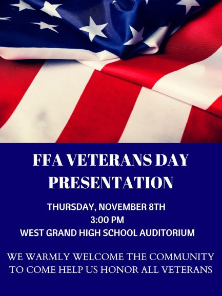 FFA Veterans Day Presentation
