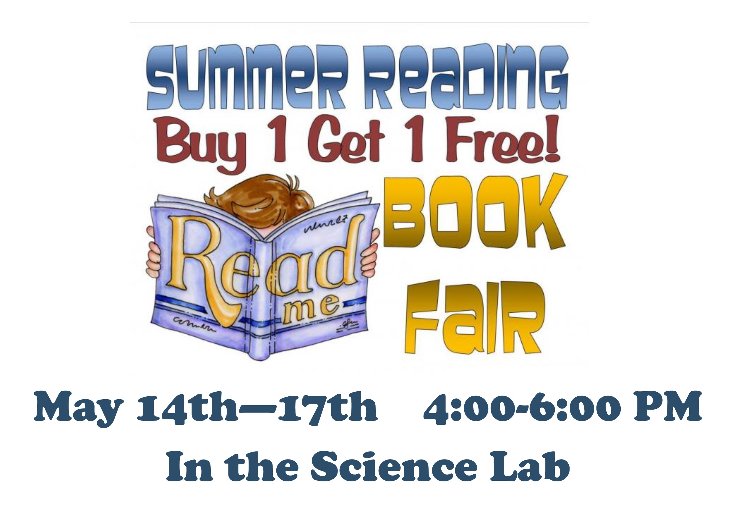 Buy  One, Get One FREE Book Fair!
