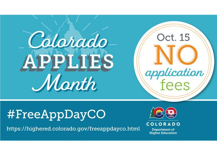 Colorado Colleges Free App Day!