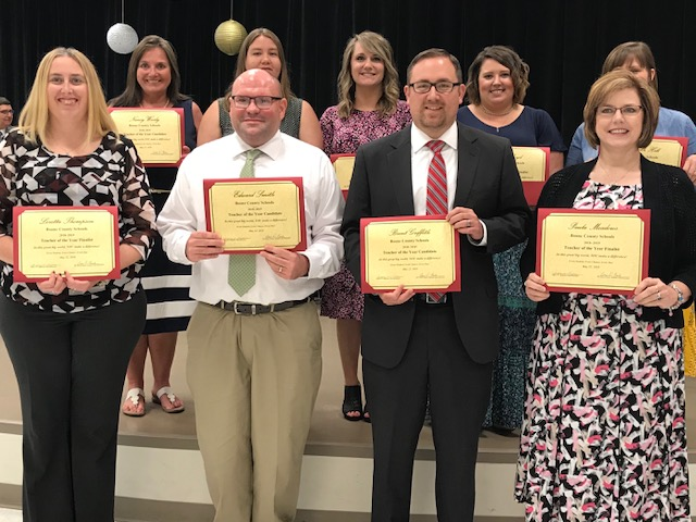BCS Teacher of the Year Candidates
