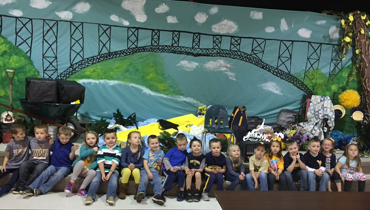 WV Day at Brookview Elementary