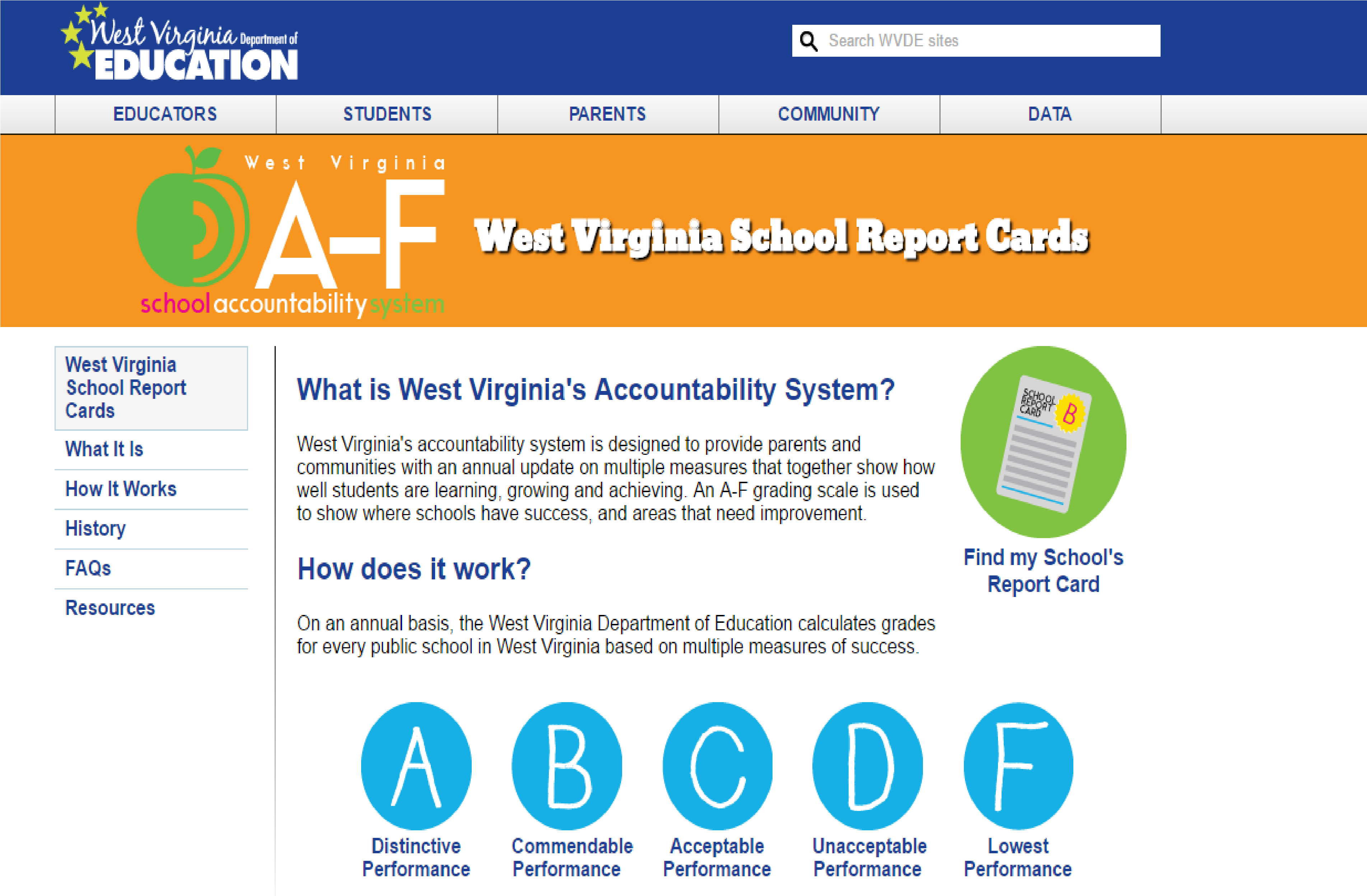 To find out more, click to visit the WVDE web site.