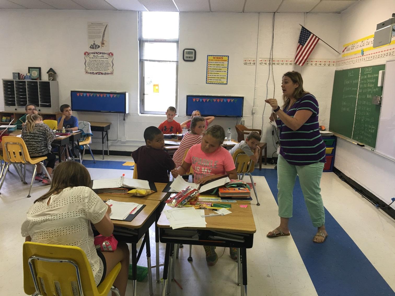 Mrs. Hoosier's Fourth Grade Learners.