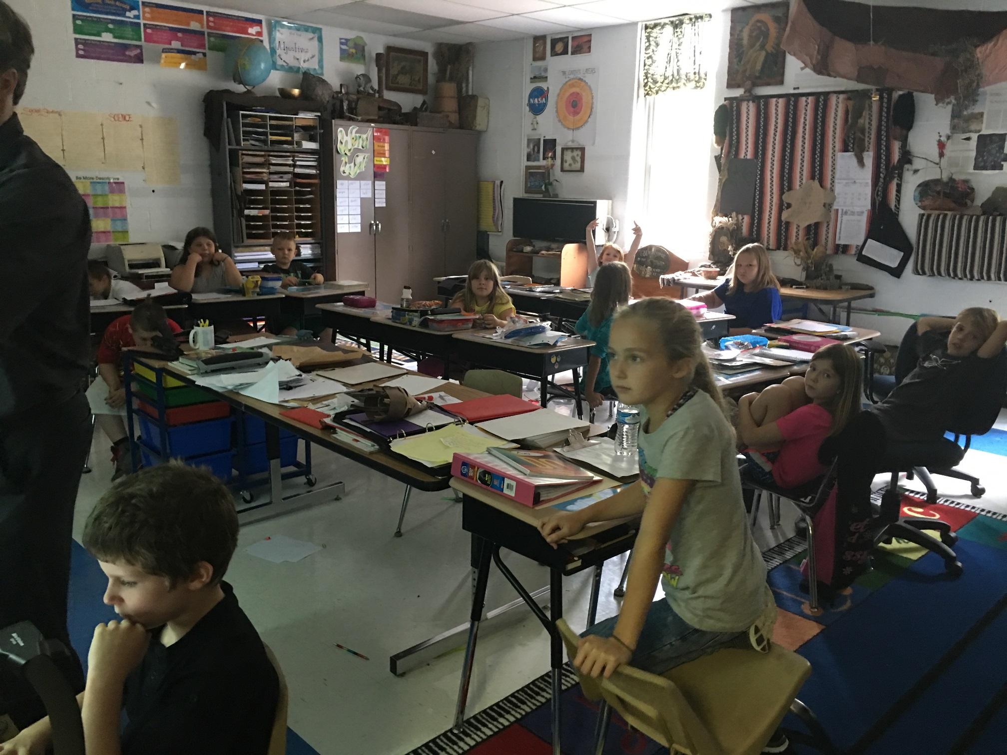Mr. Stewart's Third Grade Learners.