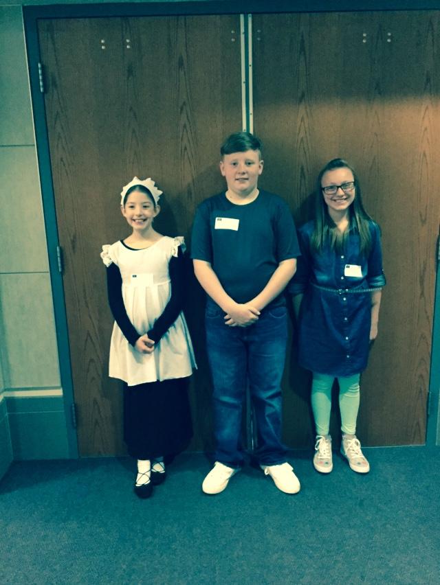 Boone County Winners@ the REGIONAL Social Studies Fair