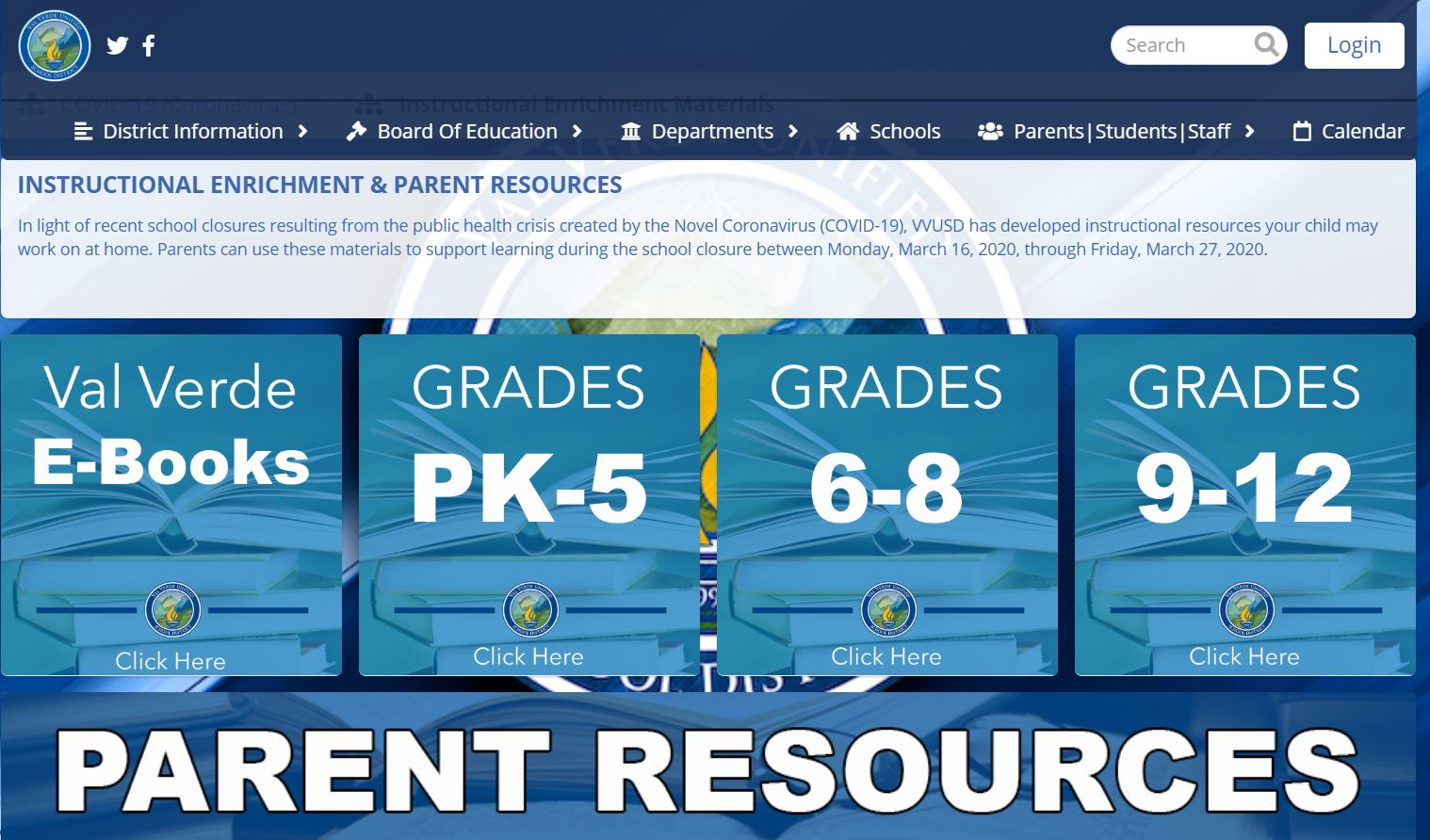 Val Verde USD Resources