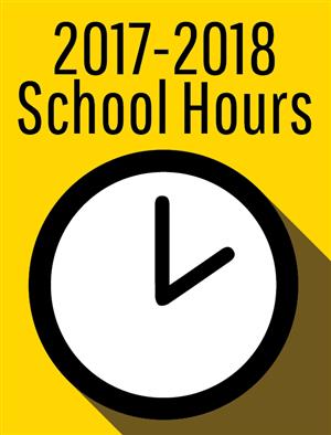 2017-2018 School Hours
