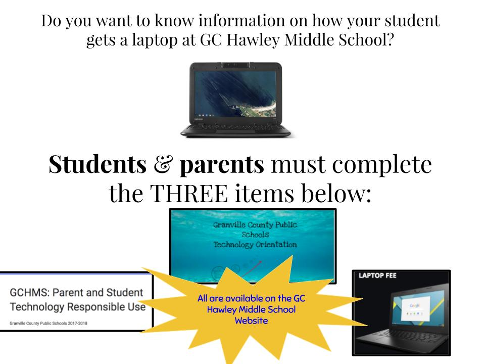 Rising 6th Graders and Students New to Hawley - Important Information!