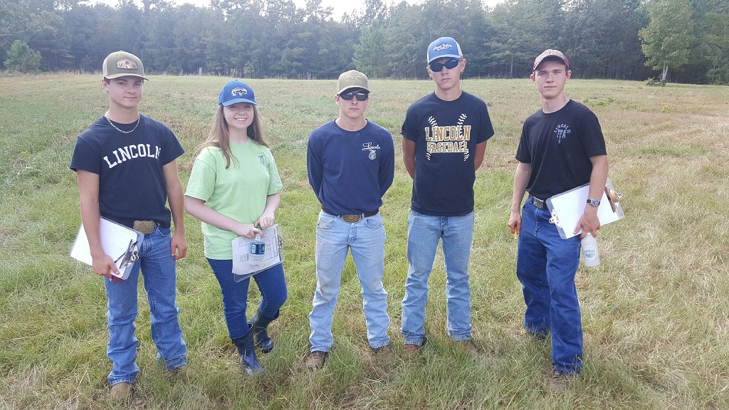 FFA Land Evaluation Team Wins Central District Contest