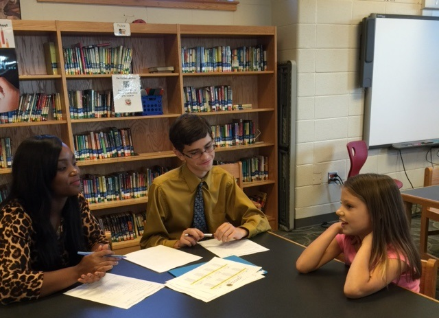 LHS Ambassadors interview Lighthouse Ambassador Applicants