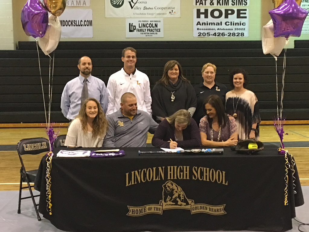 Carlee Mullinax signs Athletic Scholarship to Univ. of Montevallo