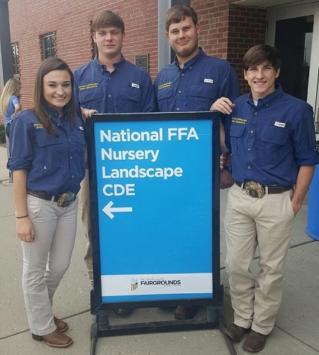 Landscape and Nursery Team Competes Nationally