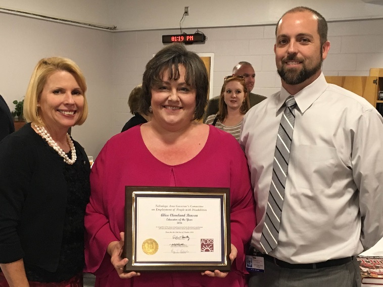 Mrs. Alice Benson presented with ADRS Governors Award