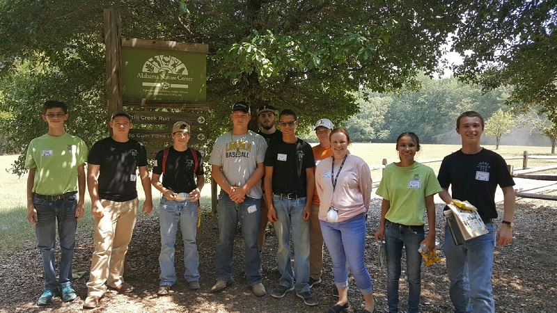 Lincoln High Students attend Woods, Water, and Wildlife Conference in Millbrook, AL