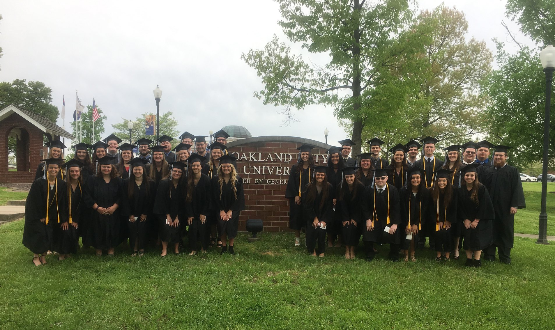 2018 NDHS Senior Graduates of Oakland City University