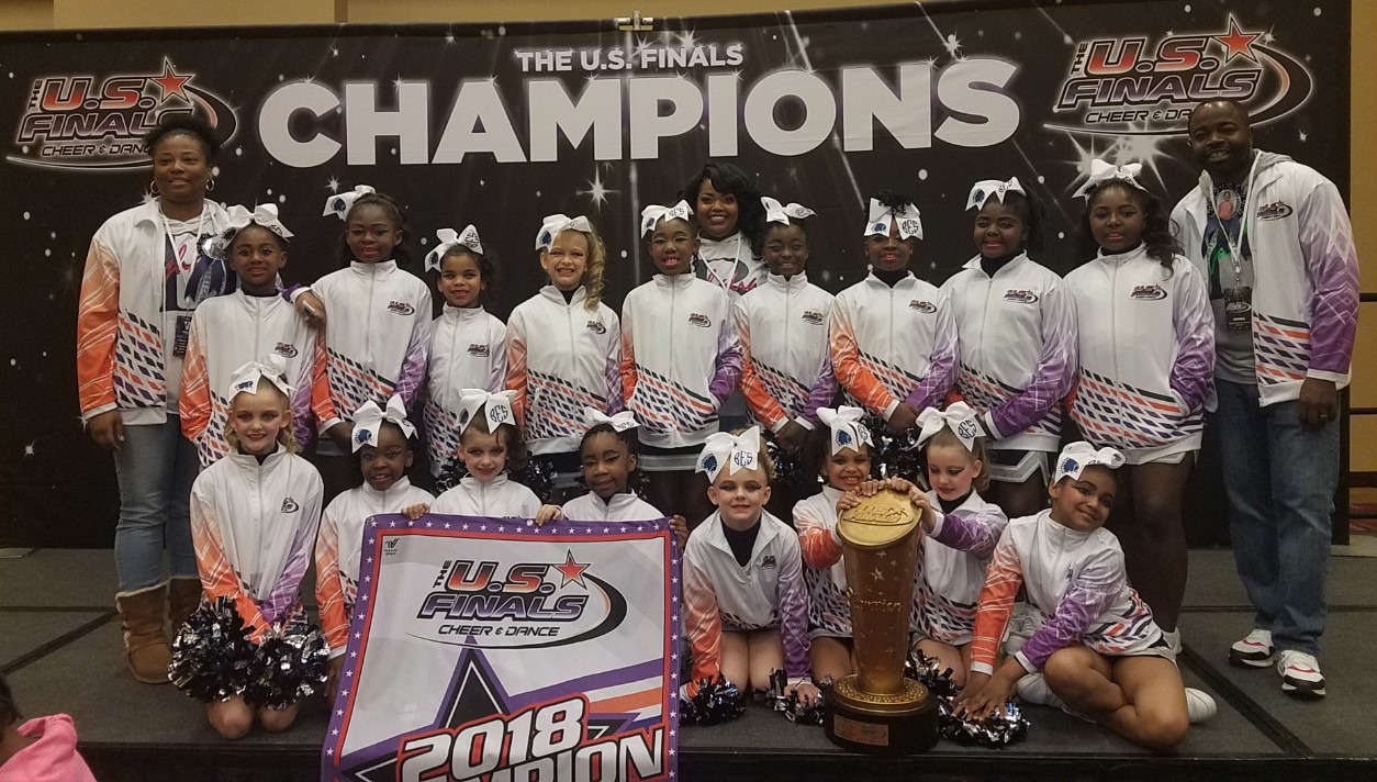 BES Cheer Take 1st Place at US Finals!