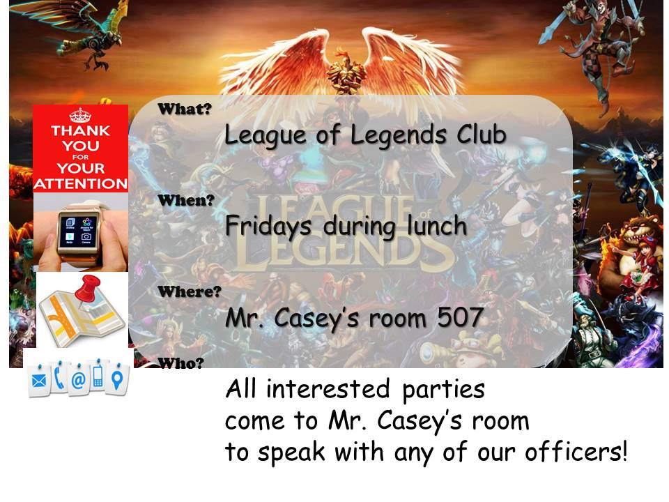 League of Legends Club