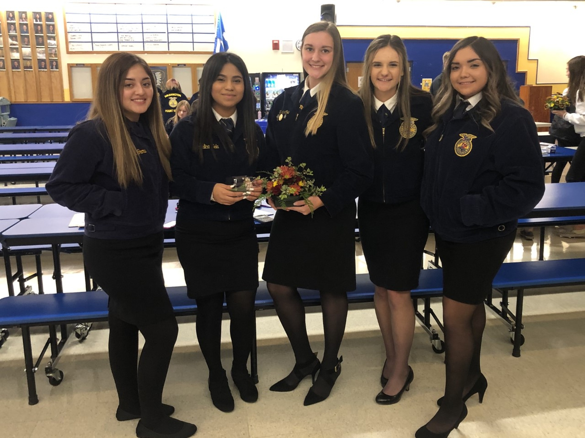 Congratulations to our Floriculture Team who placed 8th at the Rochester event this past weekend