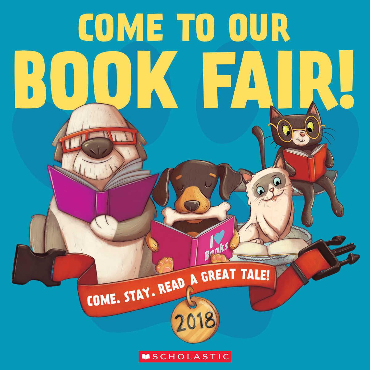 Click on the picture to shop the book fair online!