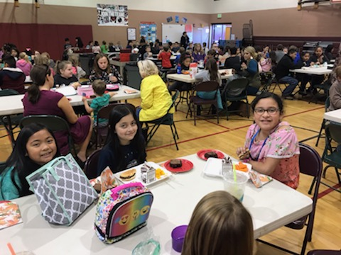 CHARACTER TRAIT AWARDS LUNCH - THANK YOU ALL FOR COMING!!!!