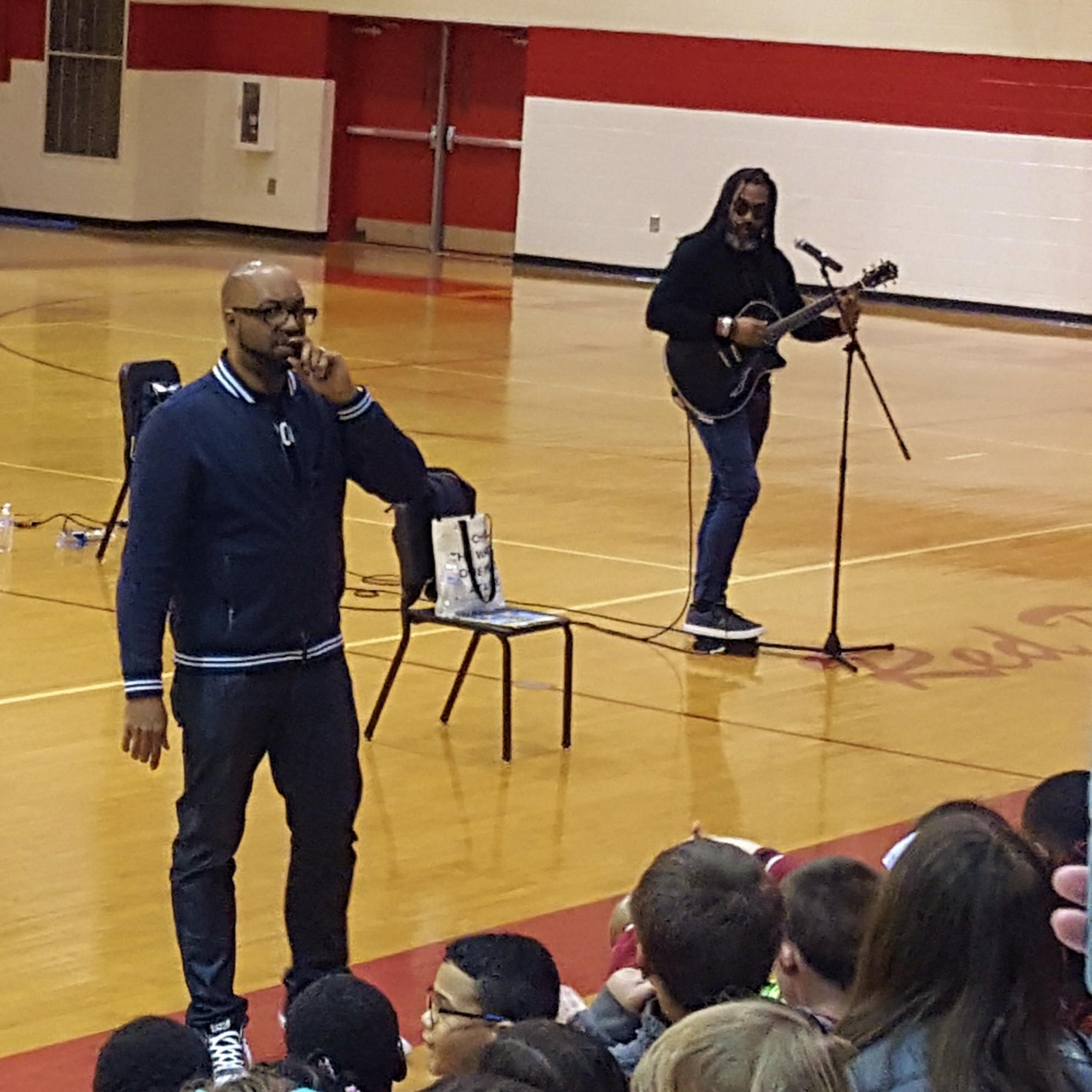 Kwame Alexander author visit