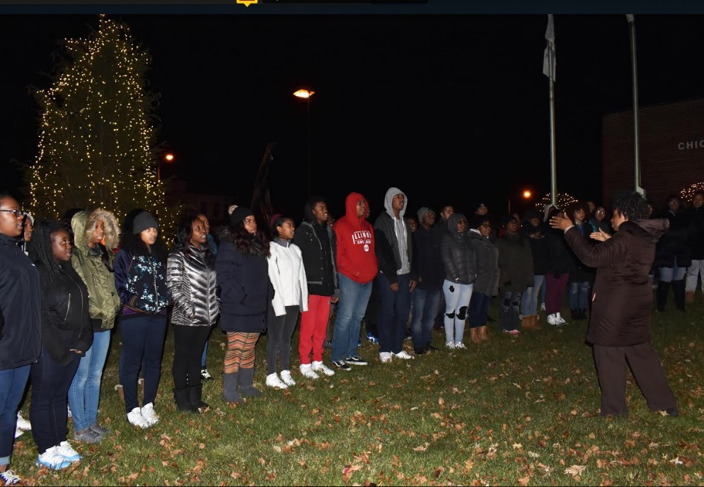 Choir Carols at Chicago Heights Tree Lighting