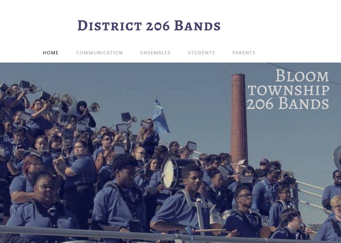 Bloom Twp 206 Band Website