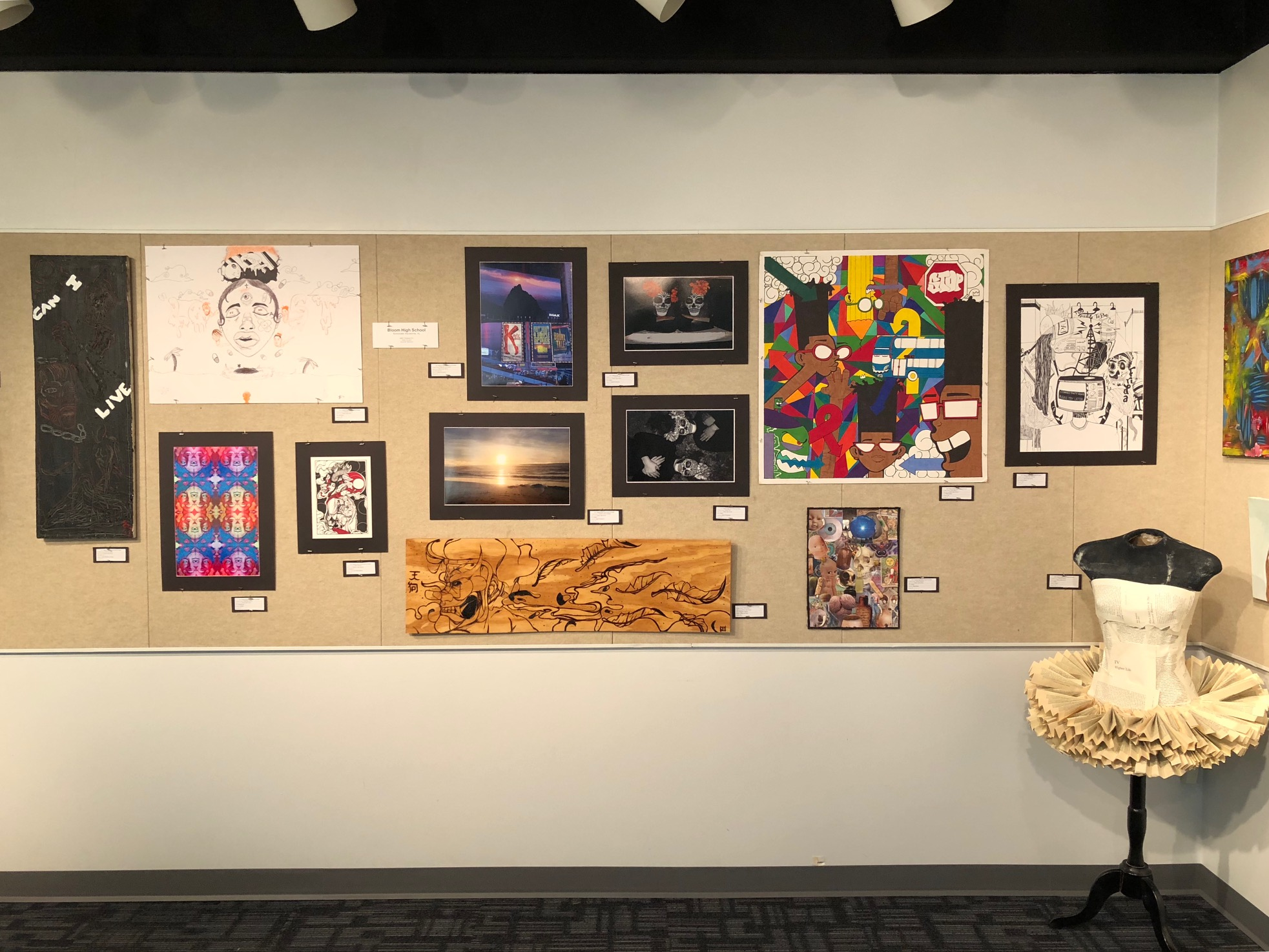 Bloom Art Students' Work on Display!