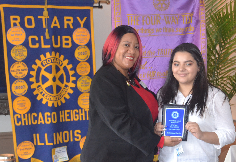 Rotary Club Student of the Month: Esmeralda Portillo