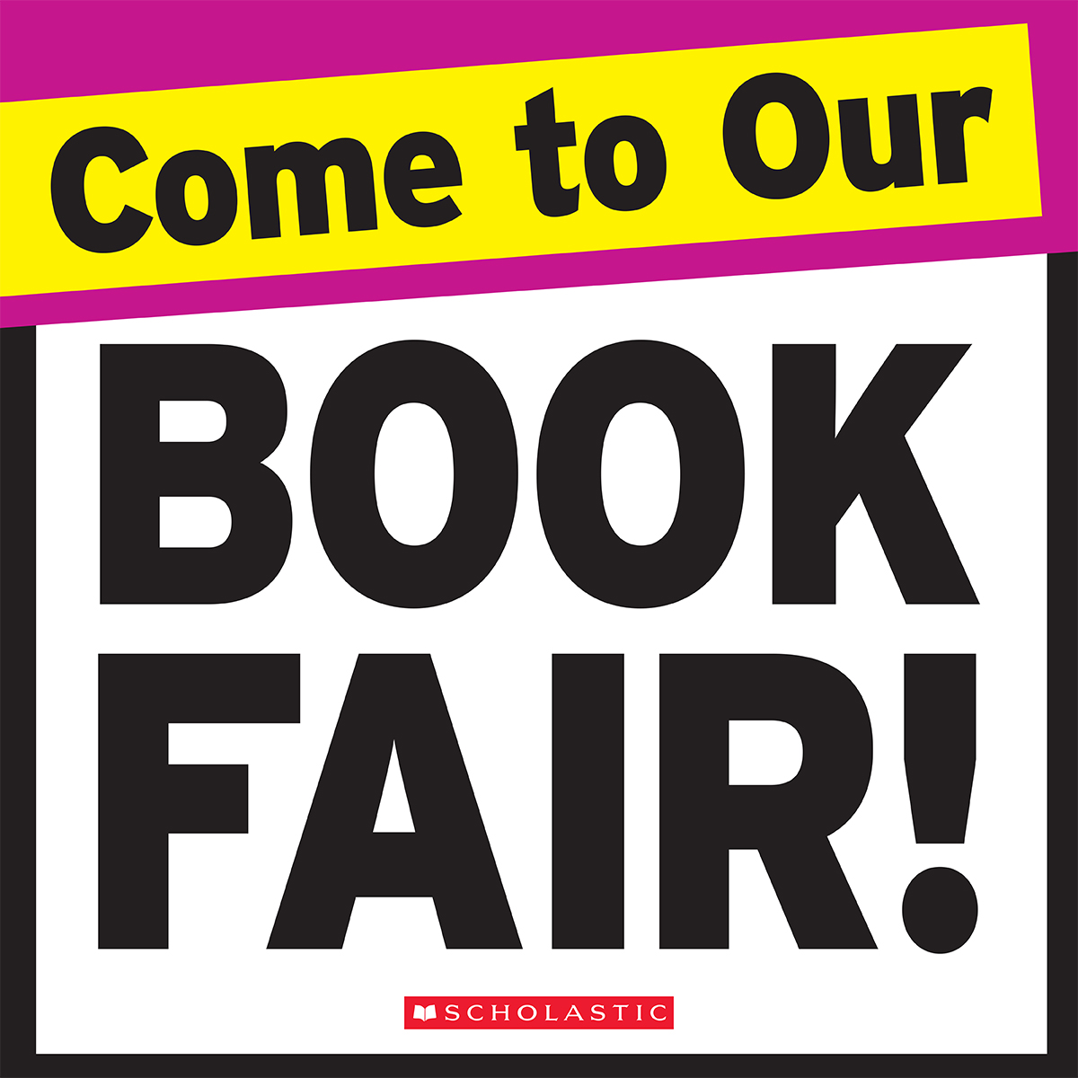 Sage Park Library Book Fair: Nov. 28 - Dec. 6