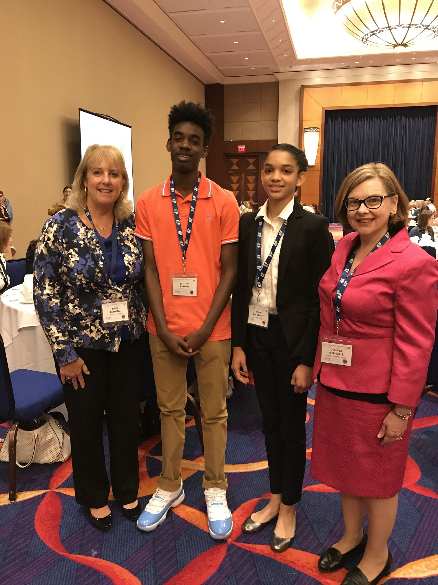 Sage Park Students Present at Empowered to Lead Symposium