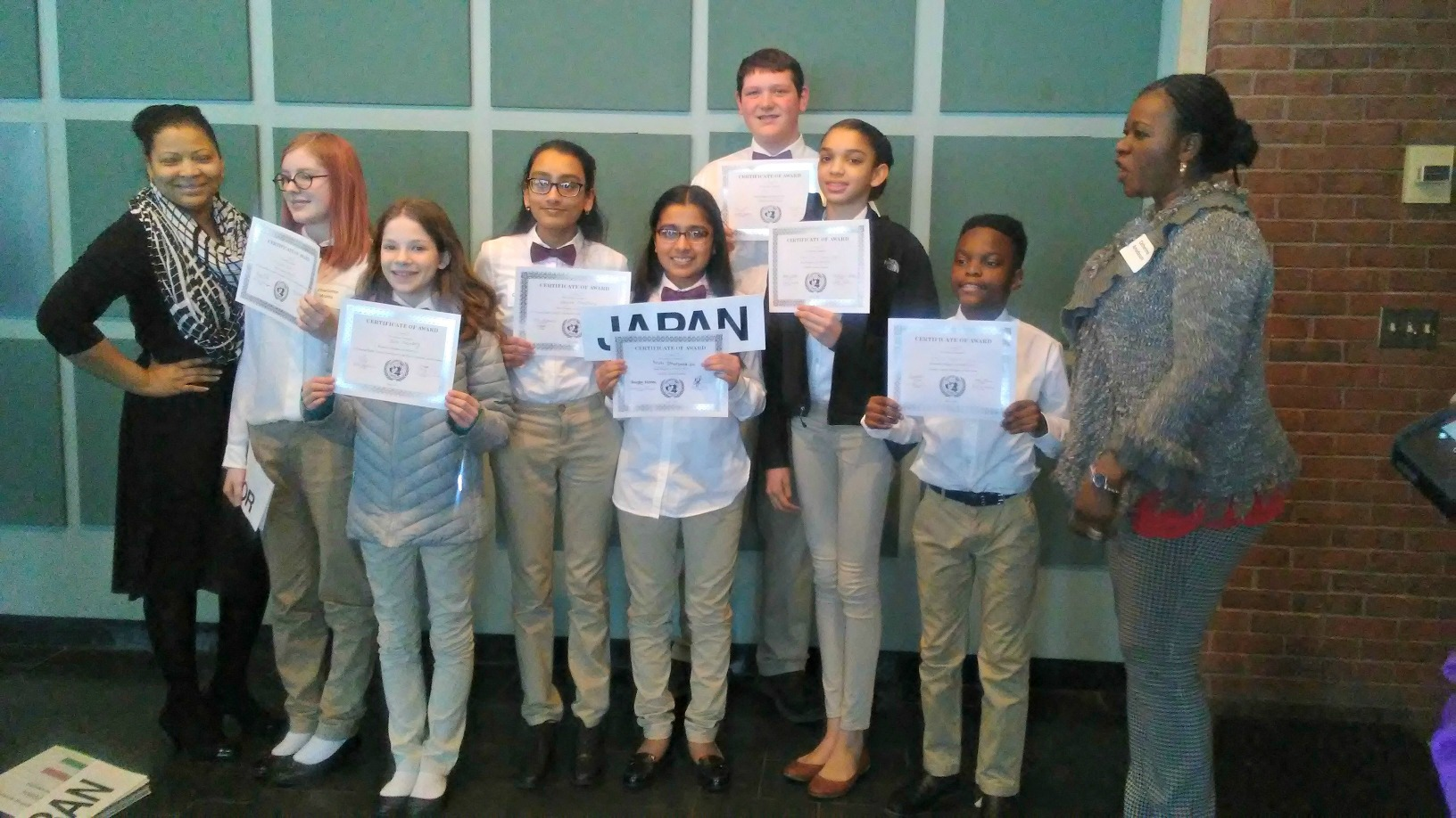 Sage Students Win Most Awards at Model United Nations Conference