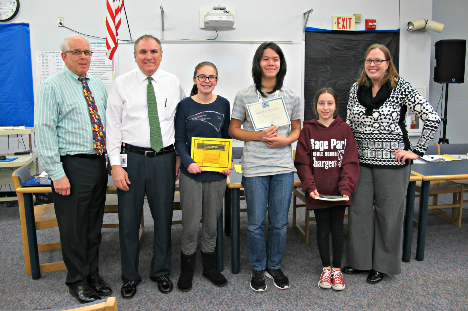 2018 National Geographic Geography Bee Winners